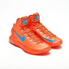 6c913c4b08d7 Kevin durant shoes 2013 KD V Creamsicle Team Orange Kd Shoes