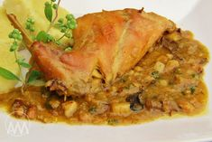 Czech Recipes, Ethnic Recipes, Lasagna, Poultry, Pork, Cooking Recipes, Treats, Chicken, Breakfast
