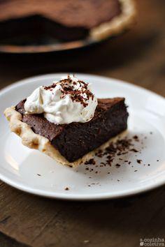 A Cozinha Coletiva: Torta Fudge de Chocolate, servida quente!