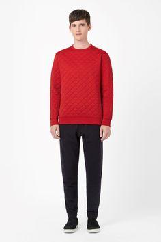 COS | Quilted sweatshirt