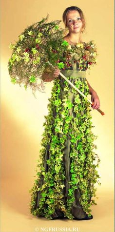 Floral Parasol - Russian Championship of Professional Floristry Photo archives