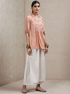 Ritu Kumar, Kurta With Pants, Lingerie Accessories, Western Wear, Indian Wear, Types Of Sleeves, Smocking, Kurti, Normcore