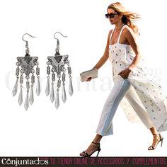 Los #pendientes Guadalupe son un complemento boho-chic indispensable ★ 9,95 € en https://www.conjuntados.com/es/pendientes/pendientes-largos/pendientes-plateados-de-estilo-etnico-guadalupe.html ★ #novedades #pendientes #earrings #conjuntados #conjuntada #joyitas #lowcost #jewelry #bisutería #bijoux #accesorios #complementos #moda #fashion #fashionadicct #picoftheday #outfit #estilo #style #GustosParaTodas #ParaTodosLosGustos