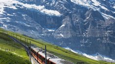 A scenic train trip in Switzerland and Northern Italy