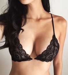 Free people essential triangle bra