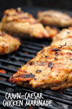 Cajun-Caesar Chicken Marinade via @labride