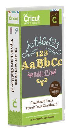 Cricut® Chalkboard Font CartridgeCricut® Chalkboard Font Cartridge,