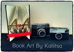 Δώρο για επέτειο γάμου ή σχέσης.  #bookartbykallitsa #bookfolding #βιβλίο #ιδέες #δώρα