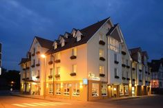 Ansicht Flair Hotel Stadt Höxter / View to Flair Hotel Stadt Hoexter