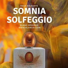 SOMNIA Solfeggio Solfeggio Frequenzen spürbar gemacht Lass deinen Körper und deinen Geist ruhig werden. Begib dich in die Welt von Somnia - eine Welt nur für dich, ohne Zeit und ohne Grenzen. Die Titel von SOMNIA I sind auf Basis der Solfeggio Frequenzen zum Schlafen, Träumen, Meditieren und Visionieren komponiert worden microSD Karte für dein Klangei - gemastert für das Klangei Musik - Andy Eicher Cover Bild - Bettina Eicher Egg, Learning, World