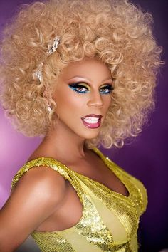 RuPaul.  The World's Greatest Drag Queen, Actor, Performer, Supermodel Of The World