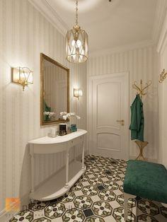Фото: Интерьер прихожей - Квартира в классическом стиле, ЖК «Академ-Парк», 136 кв.м.