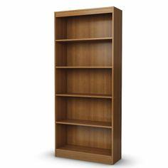 South Shore - Collection 5-Shelf Bookcase Morgan cherry - 7276768c
