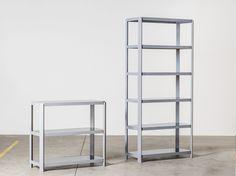 Solid wood shelving unit PINA by Miniforms design Studio Zaven