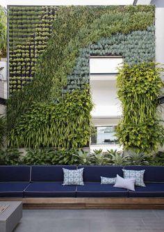 Rose Bay Landscape Design by Secret Gardens - Sydney Landscape Architects Outdoor Rooms, Outdoor Gardens, Outdoor Living, Outdoor Decor, Outdoor Lounge, Outdoor Seating, Landscape Design, Garden Design, Landscape Architecture