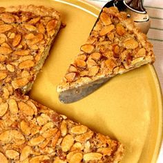 This delicious recipe for an almond tart comes courtesy of Jesse James.