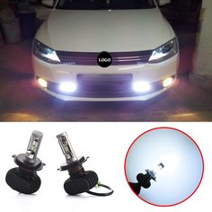 26.63$  Watch here - http://alip85.shopchina.info/1/go.php?t=32807377635 - 2pcs 4000lm  H4/HB2/9003 6500K  Car Bulbs Led Headlight Kits Dipped Beam & High Beam  Fog Lamps  #magazineonlinewebsite