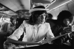 Mick Jagger and Billy Preston