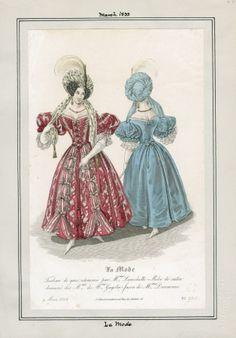 La Mode März 1833