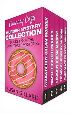 Culinary Cozy Murder Mystery Collection - Books 1-5 of the Donut Hole Mysteries (A Donut Hole Cozy Mystery) #eReaderIQ