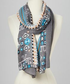Abstract Geometric Scarf