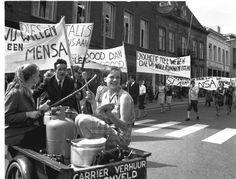 Studenten & protest. Lange tijd synoniem. Ook in Twente.