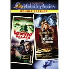 """Vincent Price does H.P. Lovecraft's """"Case of Charles Dexter Ward"""" in """"Haunted Palace"""" and Shakespeare's Richard III in """"Tower of London.""""  Both adaptations are, as one might expect from Roger Corman, very, very, VERY loose. But as one might also expect from Corman, they're enormously entertaining."""