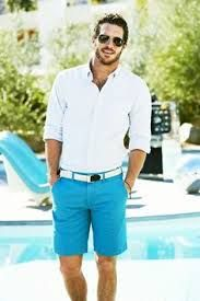 This Mens summer casual short outfits worth to copy 11 image is part from 75 Best Mens Summer Casual Shorts Outfit that You Must Try gallery and article, click read it bellow to see high resolutions quality image and another awesome image ideas. Sharp Dressed Man, Well Dressed Men, Summer Wear, Summer Outfits, Men Summer, Casual Summer, Short Outfits, Summer 2015, Spring Summer
