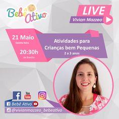 Nossa LIVE de hoje... Coloque suas perguntas sobre o assunto nos comentários.  Respondo ao vivo na live as 20:30h de Brasília.  Até mais tarde  Beijo Vivian Mazzeo  #bebeativo #vivianmazzeo #bercario #creche #educacaoinfantil #professoradobercario #professoradoberçário #bercarista #berçarista #bebenaescola #estimulacaoparabebes #bercario1 #bercario2 #berçário1 #berçário2 Live, Riddle Questions And Answers, Kiss, Living Alone, Childhood Education, School