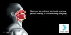 Sleep apnea is a condition in which people experience pauses in breathing, or shallow breathing, during sleep.Sleep tests are the most accurate way of diagnosing sleep apnea