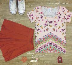 Não nos desfazemos das flores ❤️ #lojaamei #etiquetaamei #flores #outono #marrom #vintage