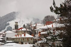 Metsovo, Greece - been here Greek Isles, Greece Travel, Planet Earth, Homeland, Elves, My Dream, Places Ive Been, Planets, Beautiful Places