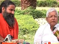 RJD chief Lalu Prasad, who had been critical of 'Baba' Ramdev in the past over his BJP and RSS links, was seen praising the Yoga guru for his succe