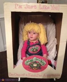 Cabbage Patch Doll costume | Cool Mom Picks
