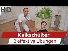 Kalkschulter - Übungen bei Schulterschmerzen, Schmerzen Schulter, Schultergelenk, Faszien - YouTube