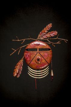 # 15 Kachina by toney redman copper, and steel ~ x