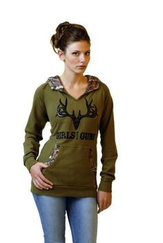GWG Buck Hoodie accented in Mossy Oak camouflage. Also available in Charcoal.
