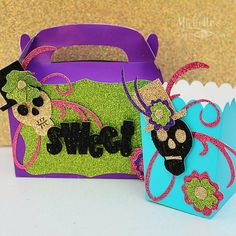 Day of the Dead Treat Boxes – Sizzix Tutorial