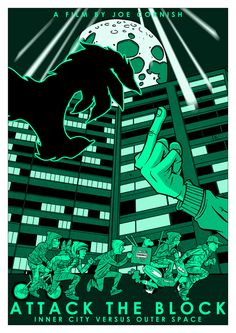 Attack the Block - movie poster - James Stayte