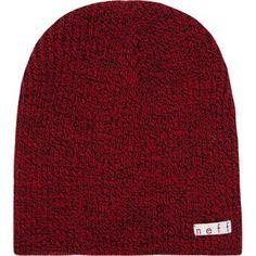 3253f2dc1f4 Black-Speckled Red Men s Beanie - Neff Headwear Fashion Forms