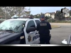 How to threaten a cop with citizen's arrest - YouTube