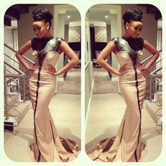 Bonang Matheba style, South African Beauty More