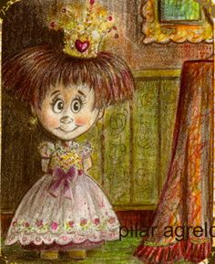 steampunk little princess, no always is brass. art by www.gothic sweet .com