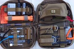 Cooper Expedition Gear Steadfast EDC Bags loaded out, versatility!