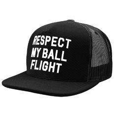 202ab6de3a3 G FORE Respect My Ball Flight Trucker Hat
