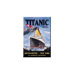 Titanic Refrigerator Magnet