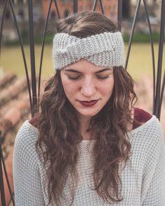 """Grey #headband #handmade #wool #winteraccessories #fascia #capelli #fattaamano #womoms #firenze #thewomoms #hairband #hairturban"""