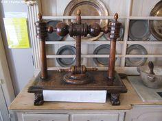 An English walnut and oak linen press, c.1690, in the Kitchen at Fairfax House (copyright Fairfax House 2011).