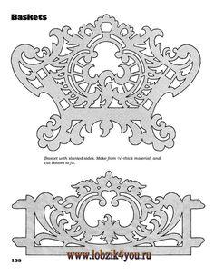 Художественное выпиливание .:. Classic Fretwork Scroll Saw Patterns (Sterling 1991 год)_139
