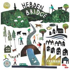 hebden bridge map - Louise Lockhart